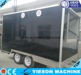 ステンレス鋼の移動式トラックのトレーラー