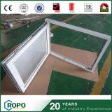 Vinylhurrikan-Auswirkung-Doppelt-Glasneigung-und Drehung-Fenster mit Vorhängen nach innen