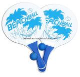 Тенниса шарика пляжа прибоя игра затвора классицистического деревянная большая для пляжа, задворк, ракетки пляжа сада