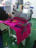 Solo casquillo principal y máquina automatizada plana del bordado de los diseños del hermano de las agujas de la máquina 12 del bordado