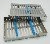 Erhöhte Instrument-Kassette mit Verschluss für 10 Instrumente