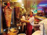 ステンレス鋼の高品質Shawarmaか鶏のRotsserie電気機械