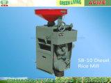 Heißer reis Husker Reis-Fräsmaschine des Verkaufs-Sb-10 beweglicher Diesel