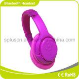 Auscultadores de Bluetooh, auscultadores sem fio da música do cartão super do SD da qualidade do som