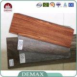 Revestimento de madeira do PVC da grão do preço do competidor