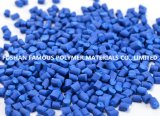 高品質の低価格の中国カラー注入の放出の打撃のフィルムのための青いプラスチックMasterbatchの価格の製造業者