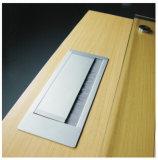 4개의 모듈 책상 소켓 알루미늄 합금 전원 소켓