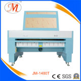 JM-Marken-Laser-Ausschnitt-Maschine mit kundenspezifischer Farbe (JM-1480T)