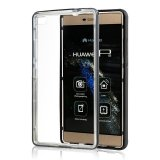 Caixa Ultrathin transparente nova do telefone móvel de TPU+PC para Huawei P8
