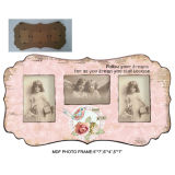 Vintage Photo décoratif MDF Wood Funny Photo Frame