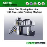 Mini film soufflant avec machine à deux couleurs