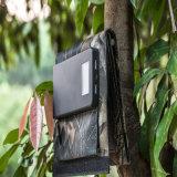 banco Foldable da potência de 8W 4000mAh que dobra o carregador de bateria alternativo externo do painel solar