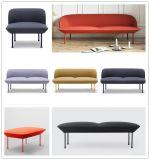 Tela moderna Sofa-Hc106 da sala de visitas da mobília Home