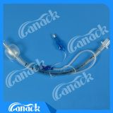 Сделано из медицинской пробки ранга усиленной PVC эндотрахеальной с люменом всасывания