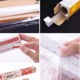 L'empaquetage transparent de PE s'attachent film d'enveloppe pour l'enveloppe de nourriture