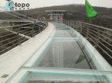 поплавка утюга 18m стекло Ультра-Ясного низкого плоское для моста (UC-TP)