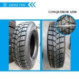 Pneu de Aufine TBR/pneumático 315/80r22.5 com rotulagem