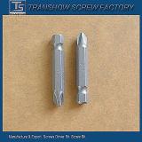Feito no bit de chave de fenda pH2 magnético de aço do cr-v dos produtos de China