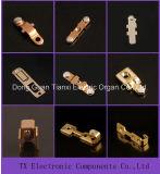 Componente fixo e movente do contato para o termostato
