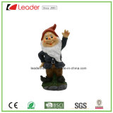 Estátua decorativa do Gnome de Polyresin do presente do ofício para a decoração Home e a decoração ao ar livre