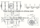 전문가 원심 송풍기 15 년 버스 A/C 24V Spal 009-B40 Vll-22