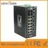 Interruptor de rede industrial portuário do SFP de 18 megabits e de 4 gigabits