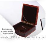 Contenitore di regalo impaccante della medaglia del MDF di arte di lusso di rettangolo