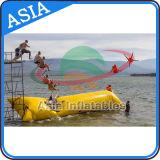 Bloqueio de Catapulta de Água Inflável, Tubo de Salto de Água Inflável Gigante, Travesseiro Inflável