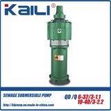 QD&Q mehrstufige elektrische versenkbare Wasser-Pumpen (mit 4 Antreibern)