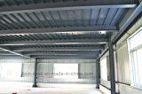 プレハブの速い鉄骨構造のプラントおよび倉庫の建物をインストールする