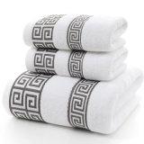 セットされる卸し売り綿のホテルの表面浴室タオル専門タオルの供給