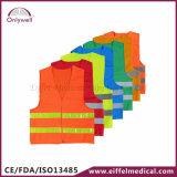 maglia riflettente Emergency medica di sicurezza del pronto soccorso 60g/80g/100g