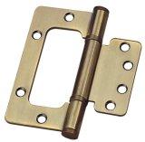 Dobradiça do resplendor da porta do aço ou do ferro do Manufactory (100X75mm)
