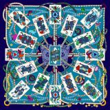 Impression en soie d'écharpe de Digitals de qualité (F13-DP-0039)