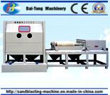Halbautomatische Sandstrahlen-Maschine für Stahlrohr