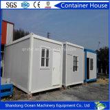 Casa pré-fabricada/casa Prefab/casa móvel do recipiente para o trabalho