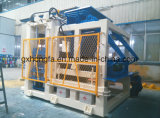 Konkreter hohler Straßenbetoniermaschine-Block, der Maschine in der Aufbau-Maschinerie (QT12-15D, herstellt)