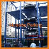 stapelaar van de Auto van de Apparatuur van het Parkeren van 3 4 Niveaus van Vloeren de Hydraulische Auto