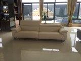 Sofa en cuir de classiques de portée chaude moderne européenne de la vente 4