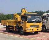 XCMGクレーン8tクレーントラックが付いている貨物自動車のトラックを持ち上げる4トン
