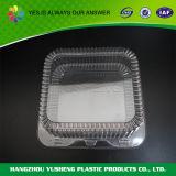 Wegwerfplastikbehälter mit Kappe für Nahrung