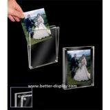 Frame magnético acrílico desobstruído da foto (Btr-U1028)