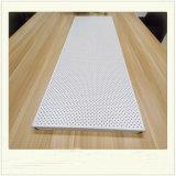Los paneles de techo de aluminio del polvo de la fabricación de China de la decoración a prueba de humedad de la capa