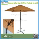 新式の屋外のカスタマイズされた日曜日の陰のクランク9FTのテラスの傘