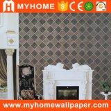 Textile Wallcovering, peinture de mur, papier peint de émulsion de PVC