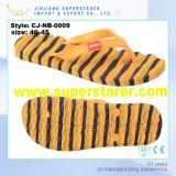 Тапочки ванны сандалий пляжа Flop Flip людей и женщин PVC Unisex Insole волны ЕВА цветастого верхние