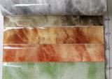 2017熱い販売法の高品質PUスムーズな大理石模様をつける袋の革(T935)