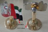 アラブ首長国連邦1971のエナメルのフラグのトロフィ、カスタマイズされた金属アラブ首長国連邦の国家的記念日のギフト