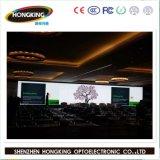 Ultra - schermo di visualizzazione locativo dell'interno sottile del LED di colore completo di P3.91 P4.81