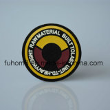 カスタム3Dシリコーンのロゴの衣服の革パッチ